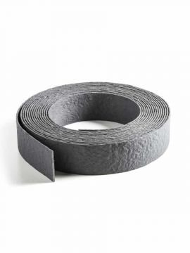 Ecolat aufgerollt grau 10m x 14cm x 0,7cm