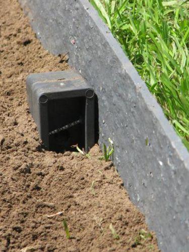 Ecolat gerade verlegung mit Ecopic Pfähle