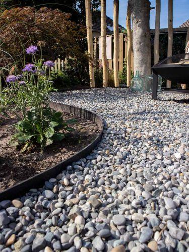 Rasenkante / Pflasterkante Multi-Edge FLEX verlegt Garten